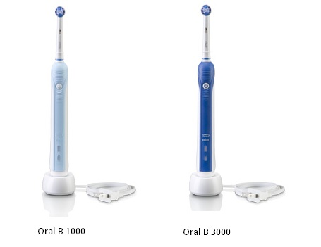 Oral B 1000 vs 3000 - Comparison of 2 Cheapest OralB Models