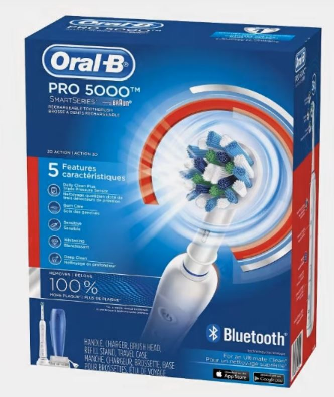 oral b professionalcare smartseries 5000 with smartguide retail box US