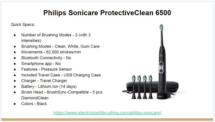 Philips Sonicare ProtectiveClean 6500