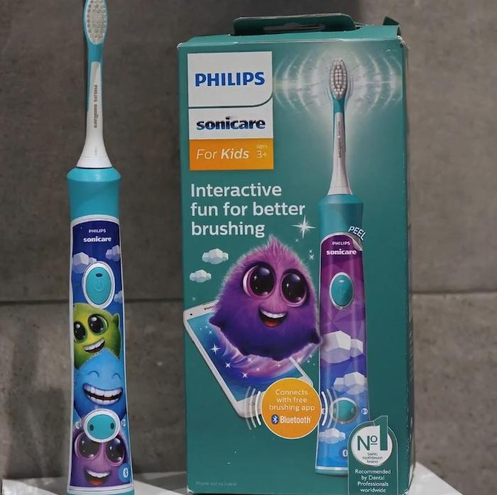 Philips Sonicare for Kids Bluetooth Connected Rechargeable Electric Toothbrush (Model HX6351/41) Review