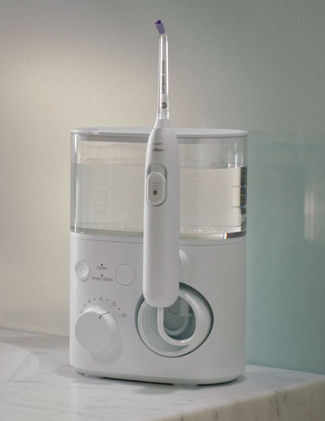 white Philips Sonicare Power Flosser 5000